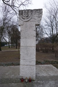 Monument to the victims of the Poznan labor camp