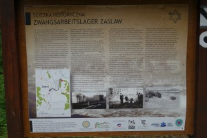 Information about the prison camp and murder of Bieszczady Jews in Zasław, near Zagórz