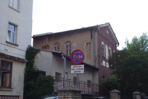 One of the former synagogues in Sanok
