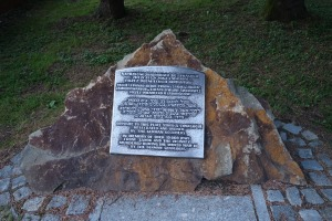 Commemorative marker, Sanok