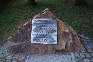 Commemorative marker, Sanok