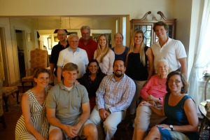 Family reunion--Halina Bereday's grandchildren and great grandchildren
