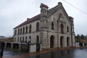 Former synagogue in Buk, Poland