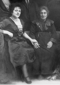 My grandmother and great grandmother around 1919