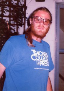 Ron during the summer of 1991, the last time I saw him.