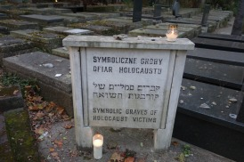 Symbolic graves of Holocaust victims