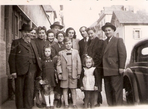 Avraham Piwko & Family in Switzerland