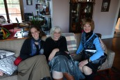 Anna, Miriam, and Susi (descendants of Abram, son of Jankel and Tema).