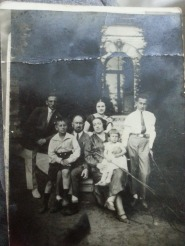 Rachel (nee Piwko) and Pinkus Kolski in Poland with their children