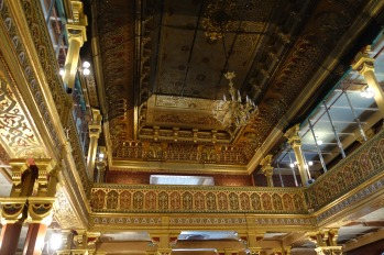 Inside the Tempel Synagogue, Kazimierz