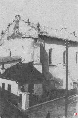 Lesko Synagogue 1932