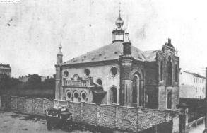 Synagogue ul. Żabia, Włocławek