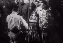 Ariana as the Gypsy girl in Gehenna, 1938.