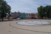 The Żychlin town square