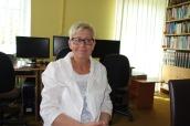 Director of the Żychlin Library, Ewa Andrzejewska
