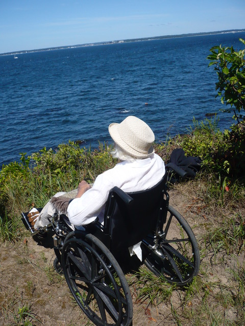 My Aunt Maria at Hawk's Nest Point