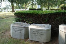 Philip and Goldie Pifko's gravestones