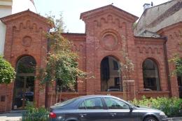 Former mikvah, now Starmach Gallery, Podgórze, Krakow